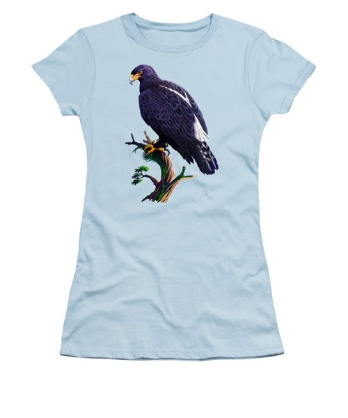 Verreaux's Eagle  Women's T-Shirt (Junior Cut) by Anthony Mwangi