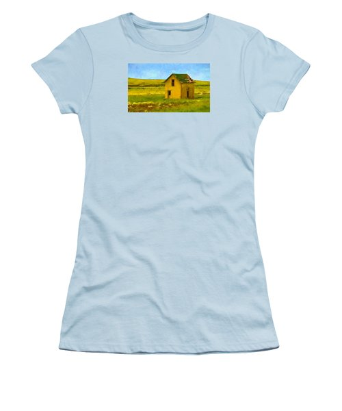 Very Little House Women's T-Shirt (Athletic Fit)