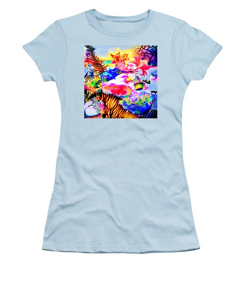 Women's T-Shirt (Junior Cut) featuring the photograph Vibe Vase by Adria Trail