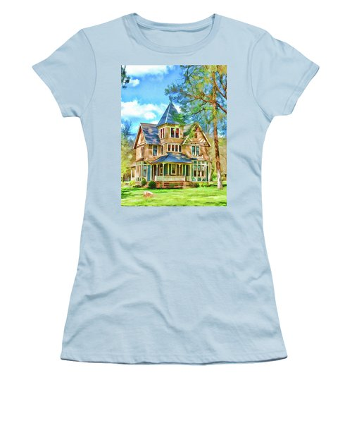 Victorian Painting Women's T-Shirt (Athletic Fit)