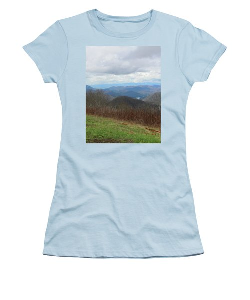 View From Silers Bald 2015c Women's T-Shirt (Athletic Fit)