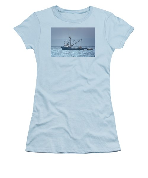 Women's T-Shirt (Junior Cut) featuring the photograph Viking Fisher 3 by Randy Hall