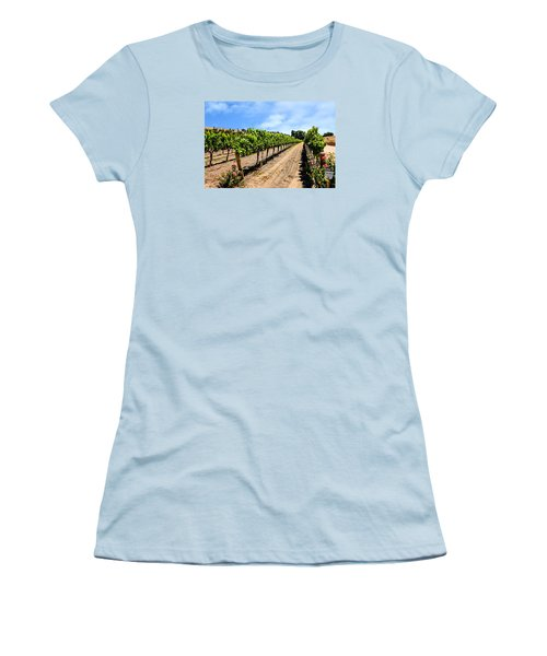 Vines And Roses Women's T-Shirt (Junior Cut) by Chris Smith