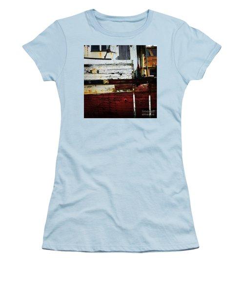 Vintage Astoria Ship Women's T-Shirt (Junior Cut) by Suzanne Lorenz