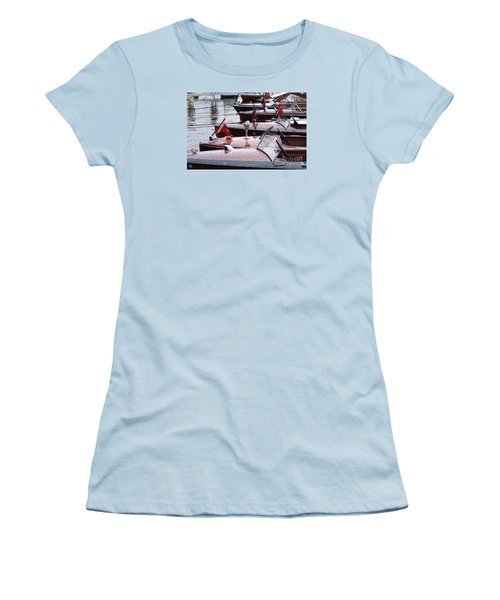 Vintage Boats Women's T-Shirt (Athletic Fit)