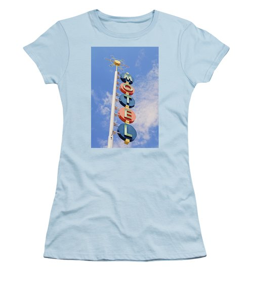 Vintage Motel Women's T-Shirt (Athletic Fit)