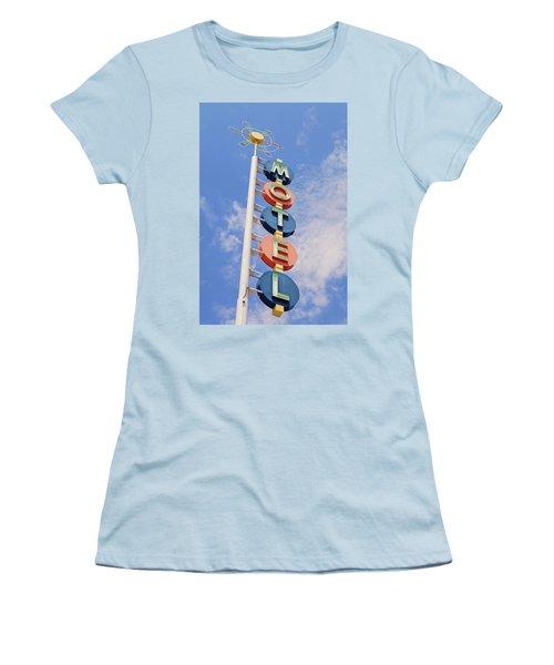 Vintage Motel Women's T-Shirt (Athletic Fit)
