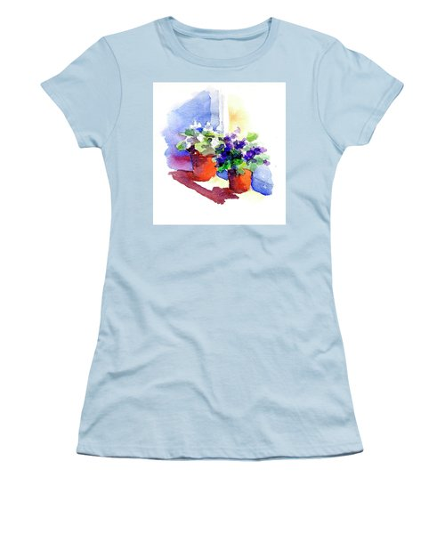 Violets Are Blue Women's T-Shirt (Athletic Fit)
