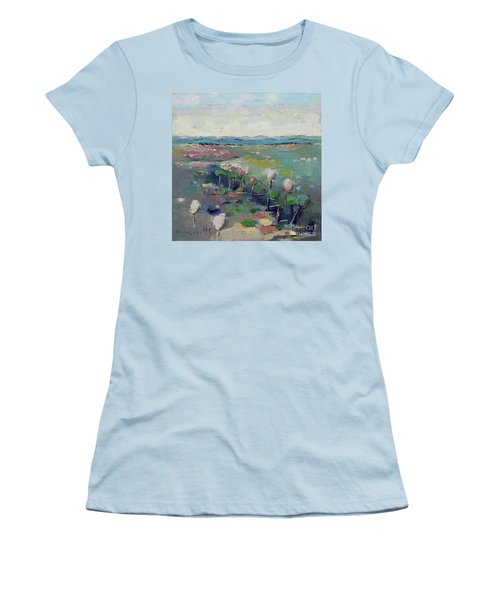 Visiting Town 1603 Women's T-Shirt (Athletic Fit)