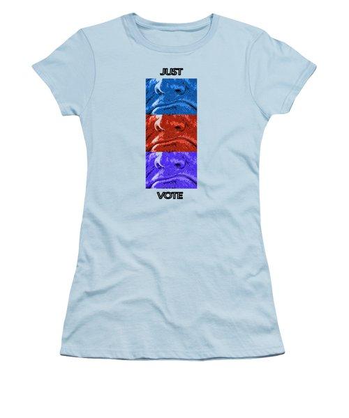 Vote Your Choice Women's T-Shirt (Junior Cut) by Aliceann Carlton