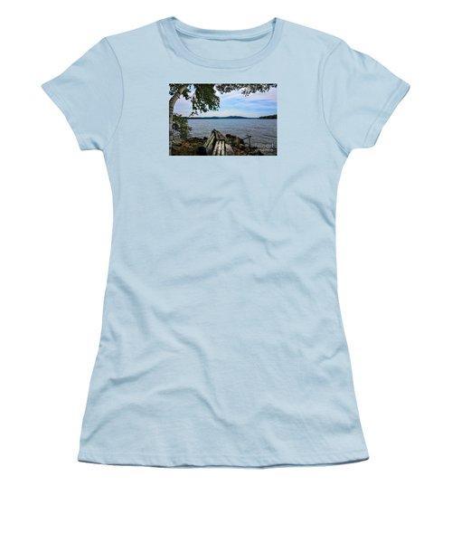 Waiting For Me Women's T-Shirt (Junior Cut) by Mim White