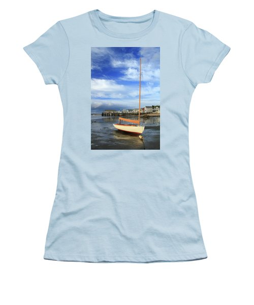 Waiting For The Tide Women's T-Shirt (Junior Cut) by Roupen  Baker