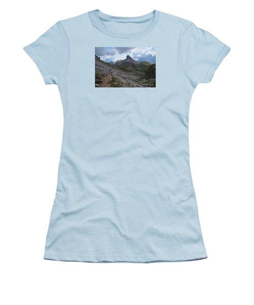 Women's T-Shirt (Junior Cut) featuring the photograph Walk On by Yuri Santin