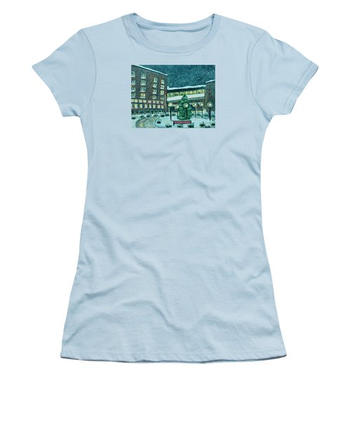 Waltham Hospital On Hope Ave Women's T-Shirt (Junior Cut) by Rita Brown