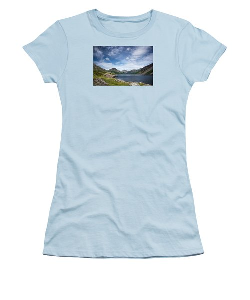 Wastwater Morning Women's T-Shirt (Athletic Fit)
