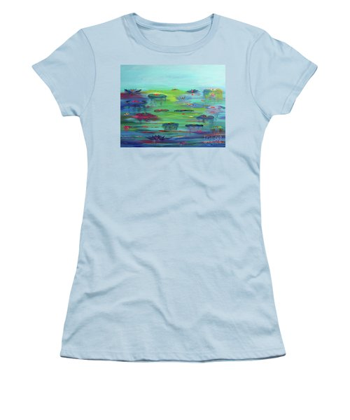 Water Lillies Women's T-Shirt (Athletic Fit)