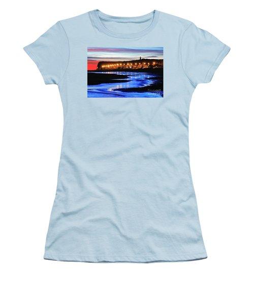 Women's T-Shirt (Junior Cut) featuring the photograph Water Snake by Bernardo Galmarini