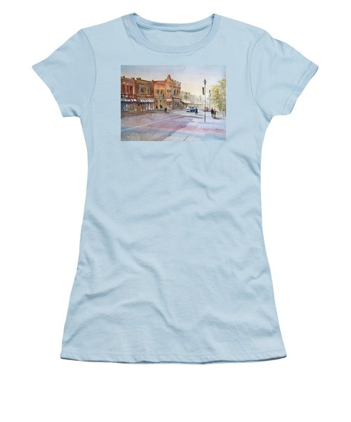 Waupaca - Main Street Women's T-Shirt (Athletic Fit)