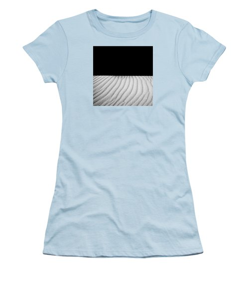 Women's T-Shirt (Junior Cut) featuring the photograph Wave Theory Viii by Ryan Weddle