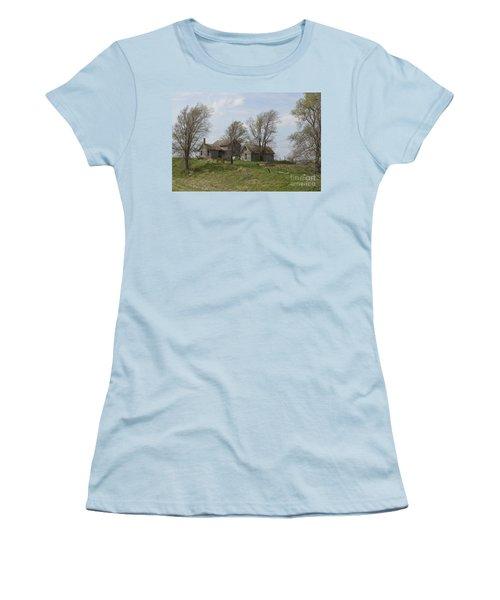 Welcome To The Farm Women's T-Shirt (Junior Cut) by Renie Rutten