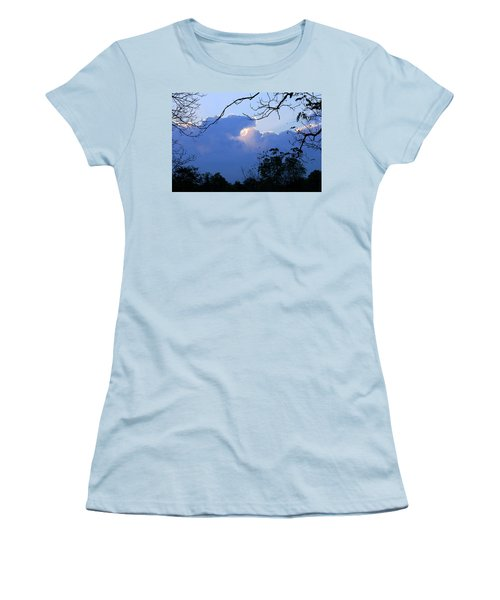 Women's T-Shirt (Athletic Fit) featuring the photograph Welcoming Light by Hanne Lore Koehler