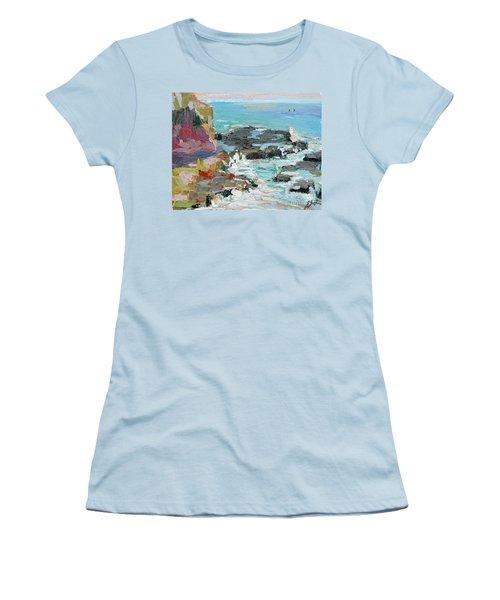 West Cliff Heat Women's T-Shirt (Athletic Fit)