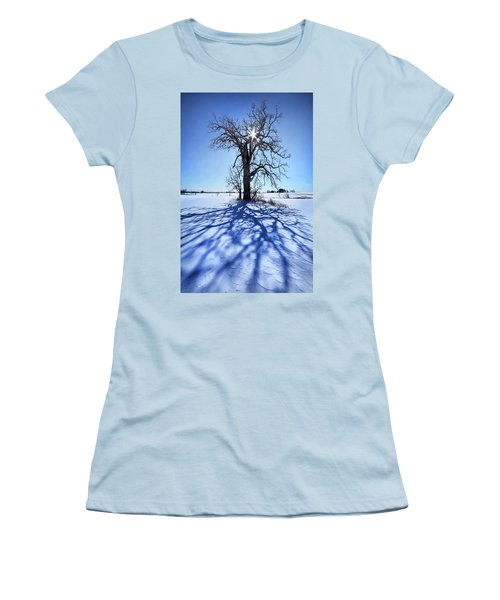 Women's T-Shirt (Junior Cut) featuring the photograph What I Am, What I Was, What I Will Be by Phil Koch