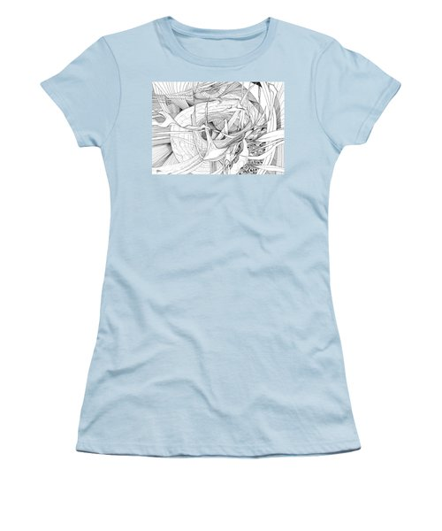 What Lies Within Women's T-Shirt (Junior Cut) by Charles Cater