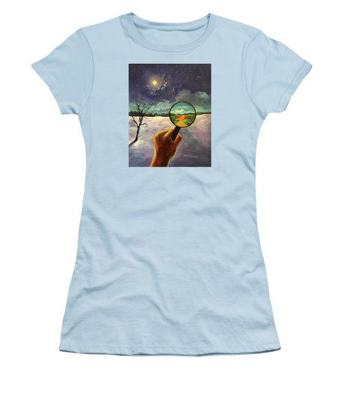 What We Choose To See Women's T-Shirt (Junior Cut) by Randy Burns