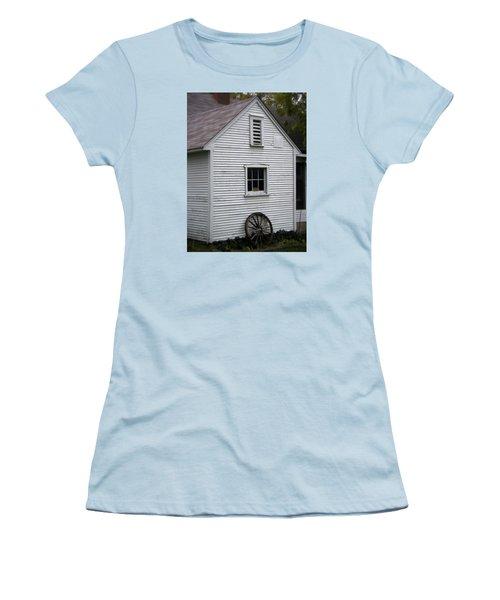 Wheel Women's T-Shirt (Junior Cut) by Frank J Casella