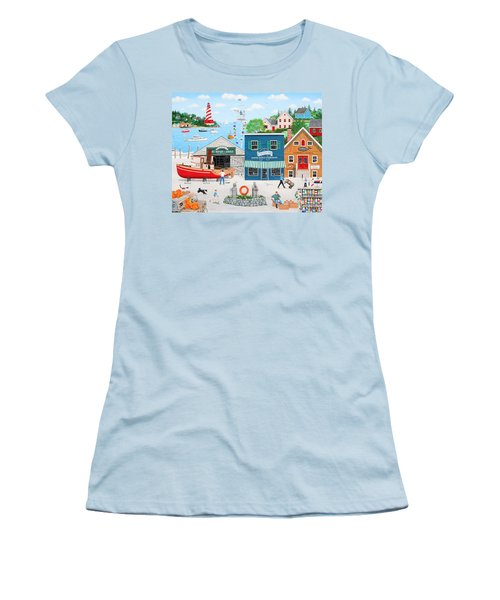 Where The Buoys Are Women's T-Shirt (Athletic Fit)