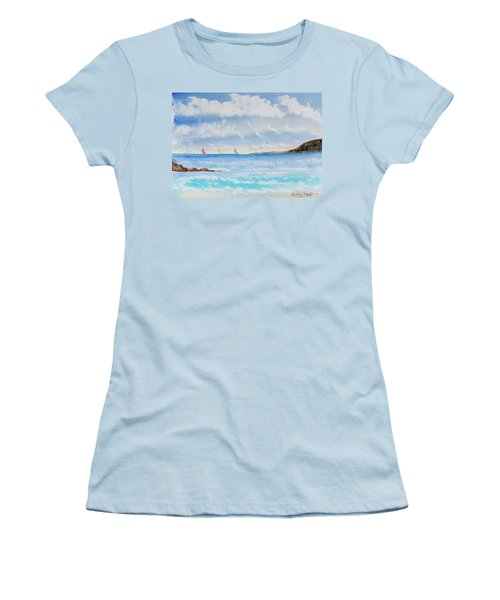 Where There's A Wind, There's A Race Women's T-Shirt (Athletic Fit)