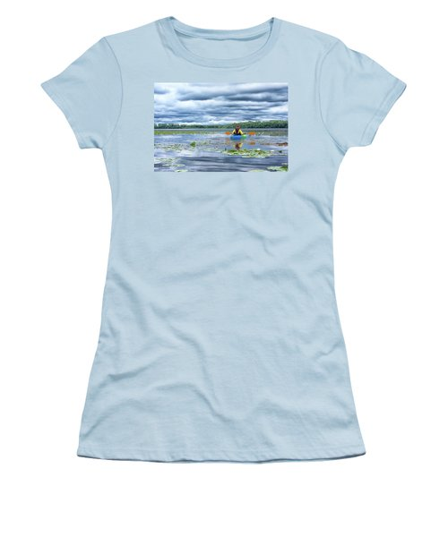 Where We Belong Women's T-Shirt (Junior Cut) by Pamela Williams