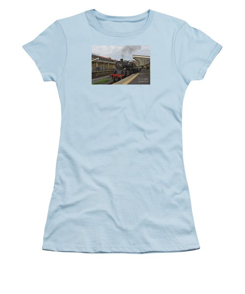 Whitby Station Women's T-Shirt (Athletic Fit)