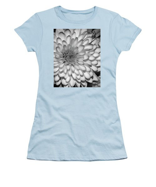 White Bloom Women's T-Shirt (Athletic Fit)