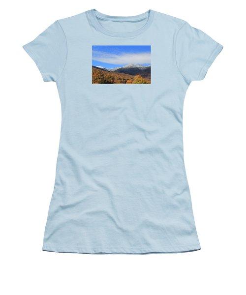 White Mountains Women's T-Shirt (Junior Cut)