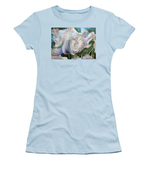 White Parrot Women's T-Shirt (Athletic Fit)