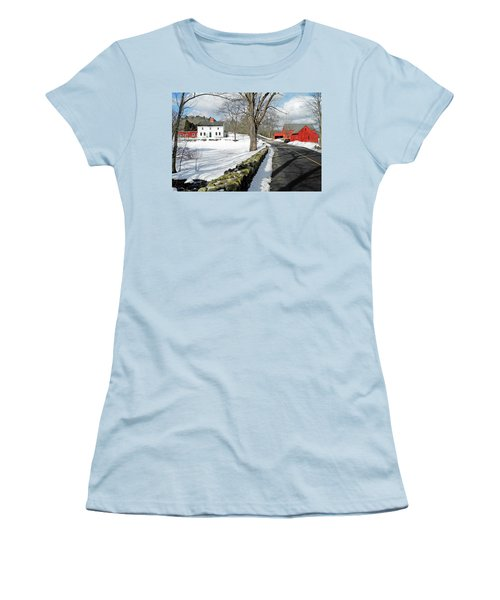 Whittier Birthplace Women's T-Shirt (Athletic Fit)