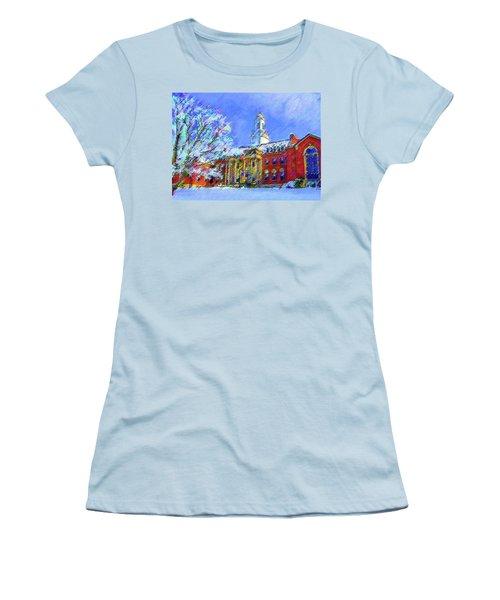 Wilbur Library  Uconn Women's T-Shirt (Athletic Fit)