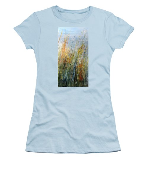 Wild Flowers And Hay Women's T-Shirt (Athletic Fit)
