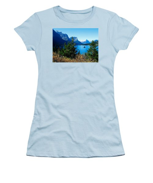 Wild Goose Island In The Fall Women's T-Shirt (Athletic Fit)