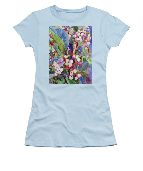 Wild Raisons Women's T-Shirt (Junior Cut) by Sandy McIntire