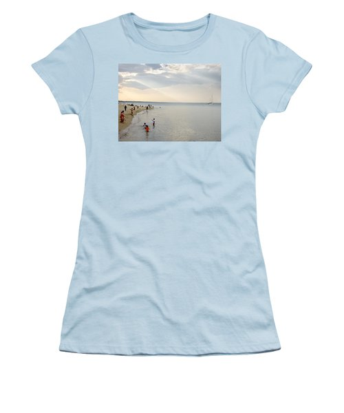 Wilmette Beach Labor Day 2009 Women's T-Shirt (Athletic Fit)