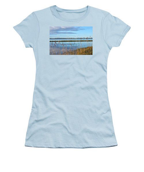 Windmills On A Windless Morning Women's T-Shirt (Athletic Fit)