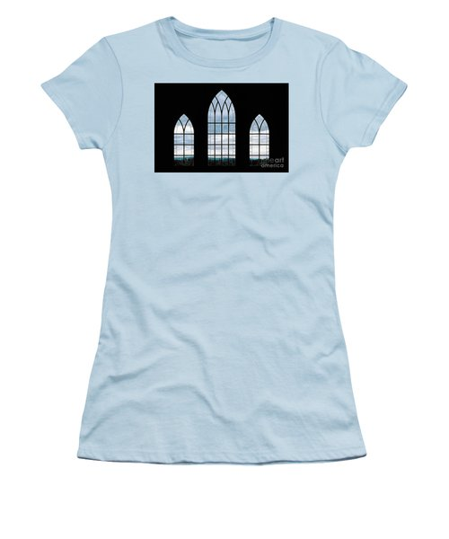 Women's T-Shirt (Junior Cut) featuring the photograph Window To God's Country by Brad Allen Fine Art