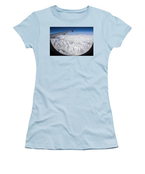 Window To Himalaya Women's T-Shirt (Athletic Fit)