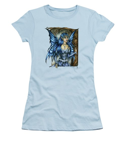 Winter Fairy Drawing Women's T-Shirt (Athletic Fit)