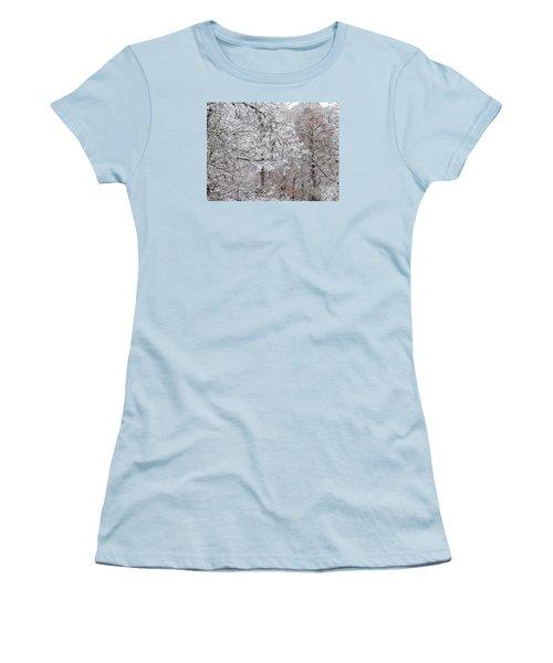 Winter Fantasy Women's T-Shirt (Junior Cut) by Craig Walters