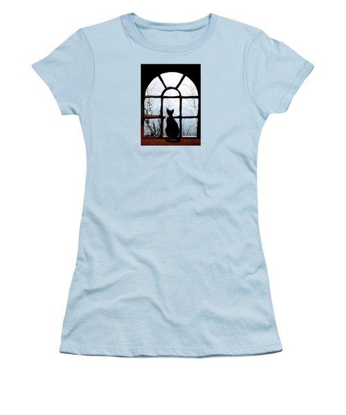 Winter Musing Women's T-Shirt (Junior Cut) by Angela Davies
