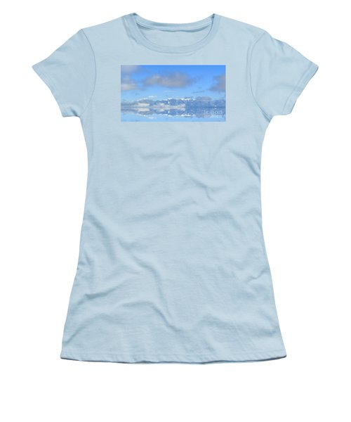 Winter On The Lake Women's T-Shirt (Athletic Fit)